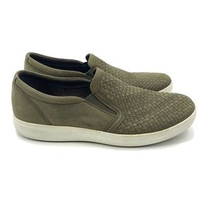 ECCO Leather Soft 7 Slip On Casual Sneakers 14
